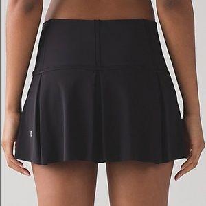 Lululemon Lost in Pace Skirt in Black